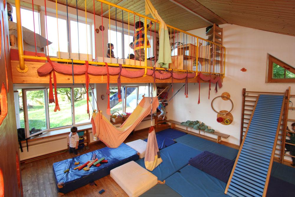 Bewegungsraum | Kinderwerkstatt Schpumpenudl in Telfs